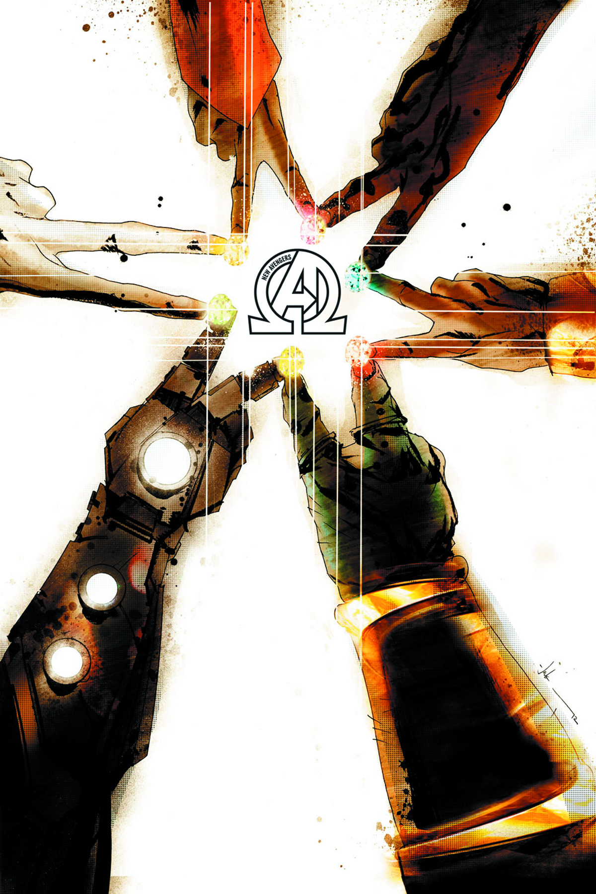 NEW AVENGERS #2 2ND PTG JOCK VAR NOW