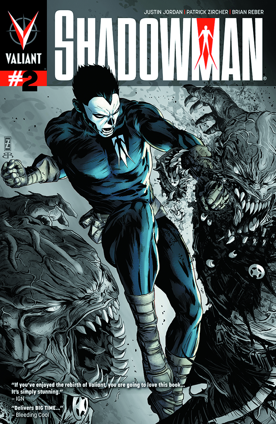SHADOWMAN #2 2ND PTG ZIRCHER CVR