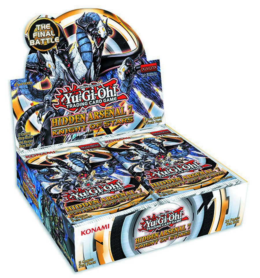 YU GI OH TCG HIDDEN ARSENAL BOOSTER DIS #7 KNIGHT OF STARS