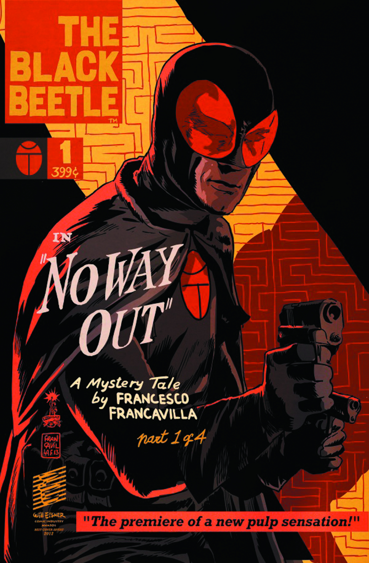 BLACK BEETLE #1 (OF 4) NO WAY OUT (2ND PTG)