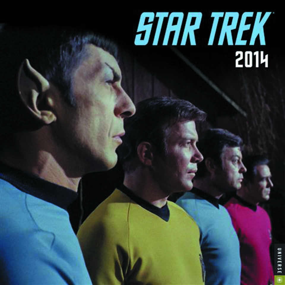STAR TREK TOS 2014 WALL CALENDAR