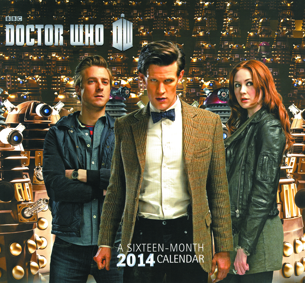 DOCTOR WHO 2014 16 MONTH WALL CALENDAR