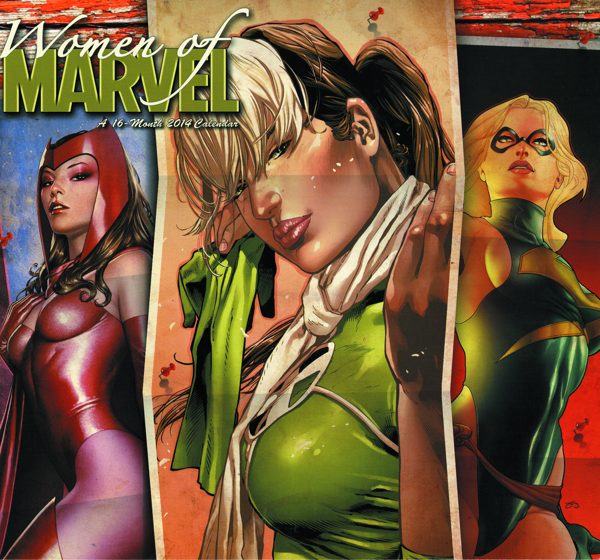 WOMEN OF MARVEL 2014 16 MONTH WALL CAL