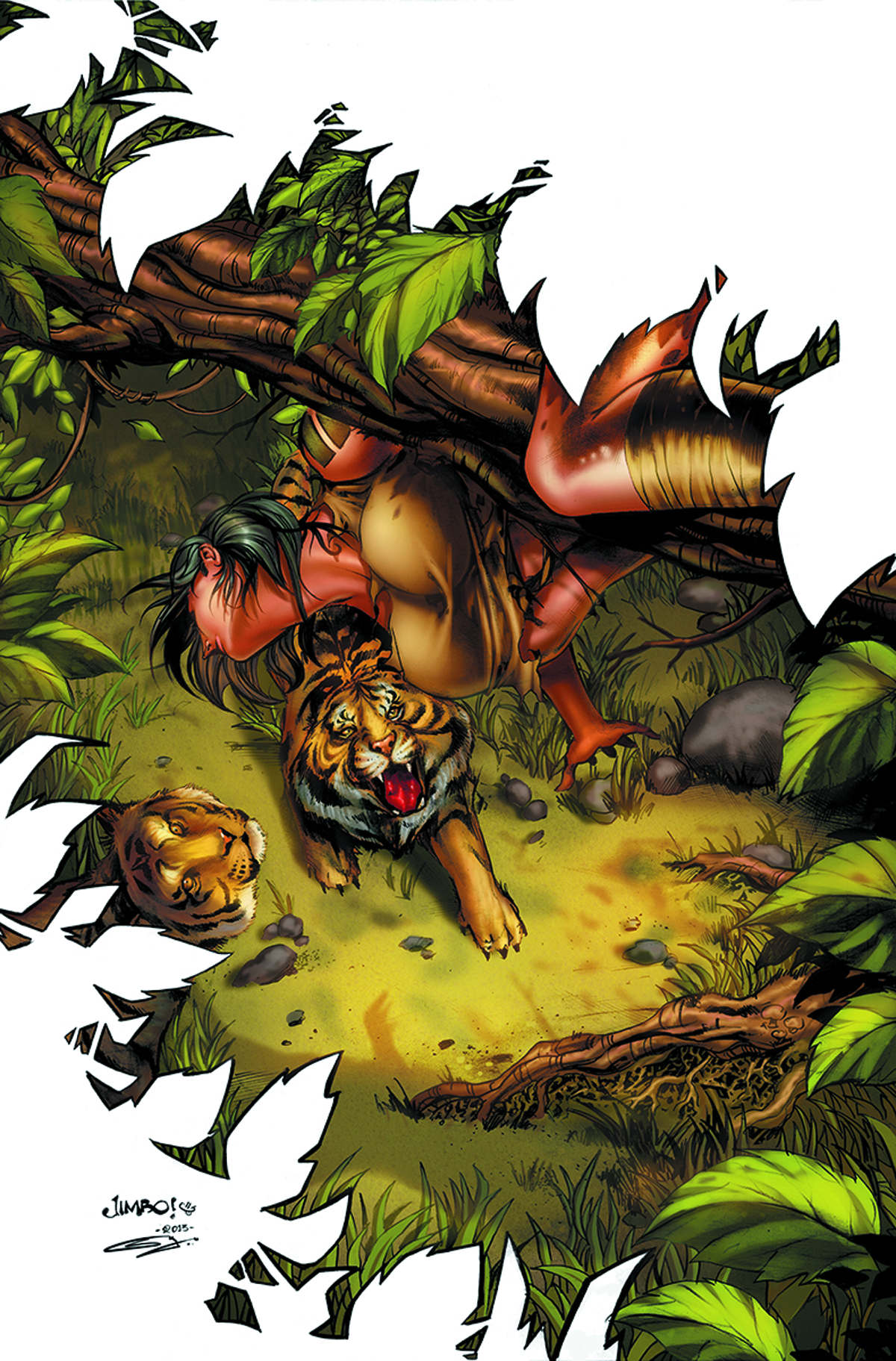 GFT JUNGLE BOOK LAST O/T SPECIES #5 (OF 5) A CVR SALGADO