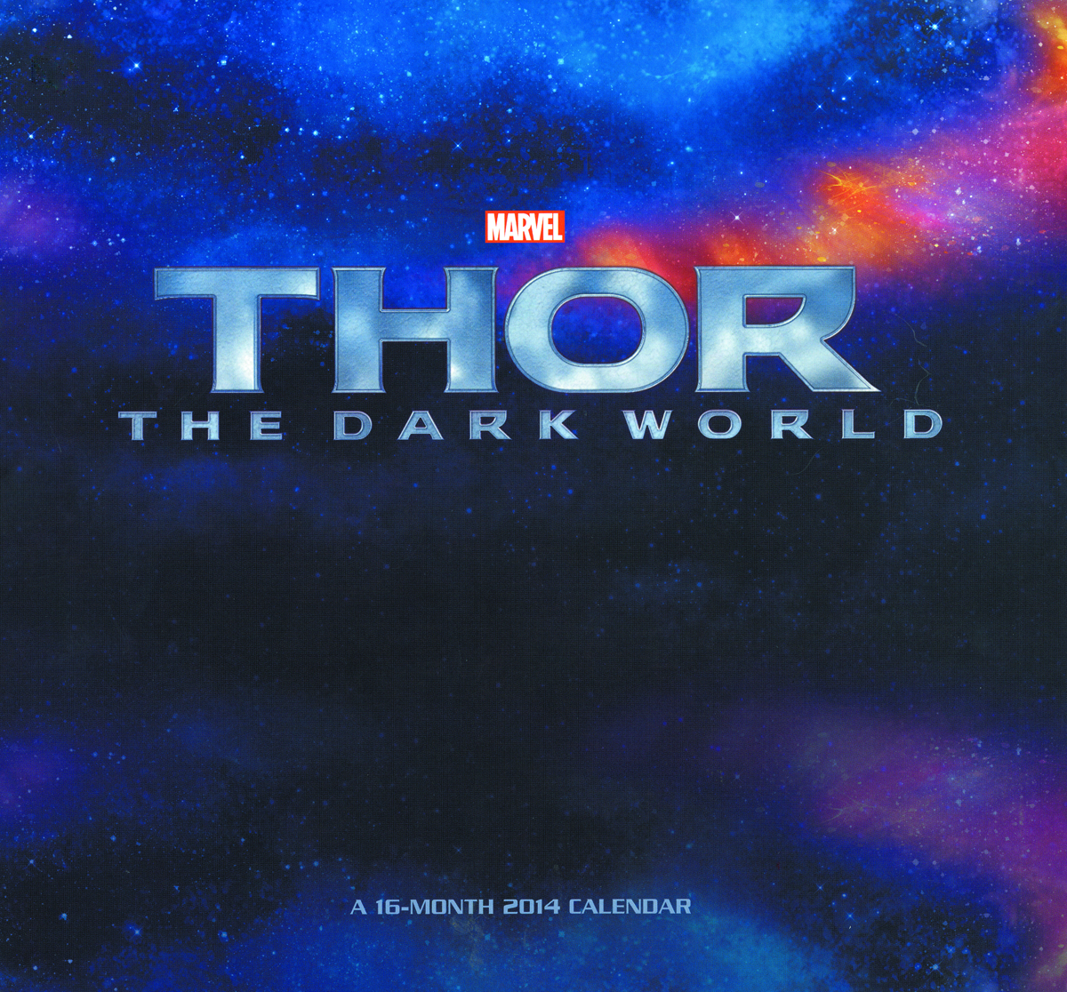 THOR DARK WORLD 16 MONTH 2014 WALL CAL