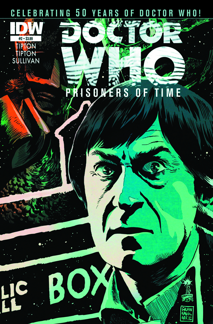 DOCTOR WHO PRISONERS OF TIME #2 (OF 12) 2ND PTG
