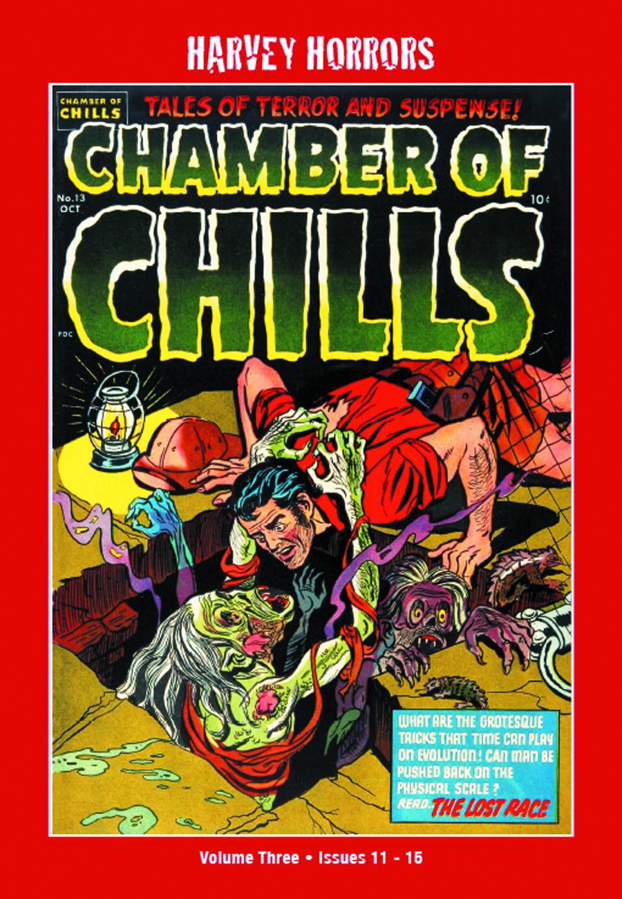 HARVEY HORRORS CHAMBER OF CHILLS SOFTIE TP VOL 03