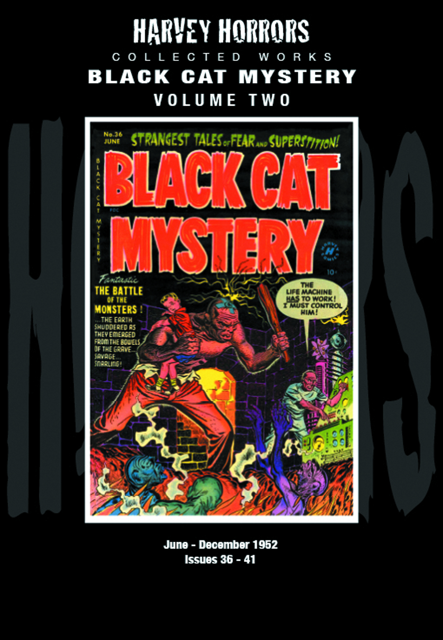 HARVEY HORRORS COLL WORKS BLACK CAT MYSTERY HC VOL 02