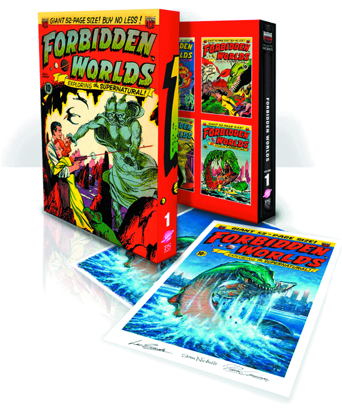 ACG COLL WORKS FORBIDDEN WORLDS SLIPCASE ED VOL 01