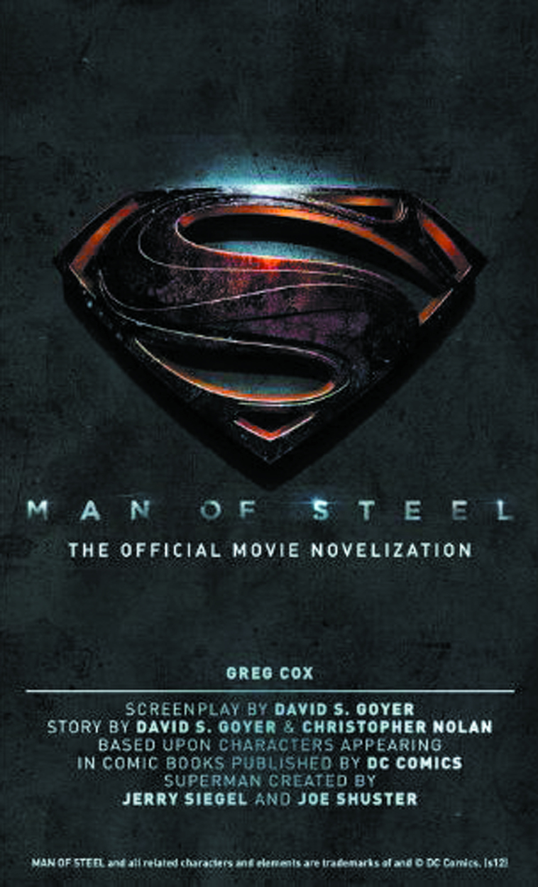 MAN OF STEEL OFF NOVELIZATION MMPB