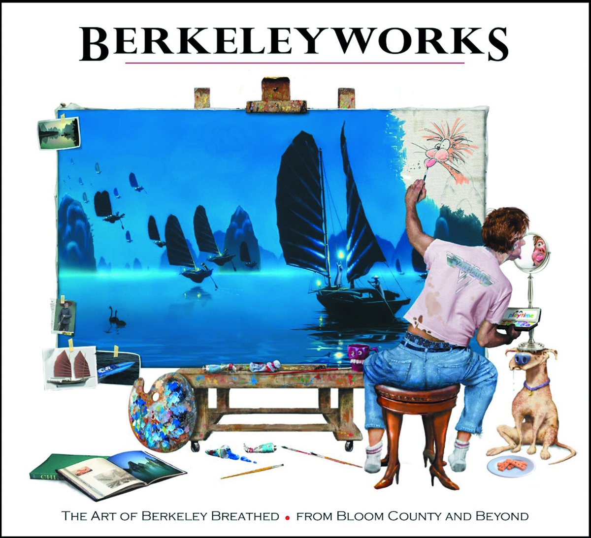 BERKELEYWORKS BREATHED BLOOM COUNTY & BEYOND HC