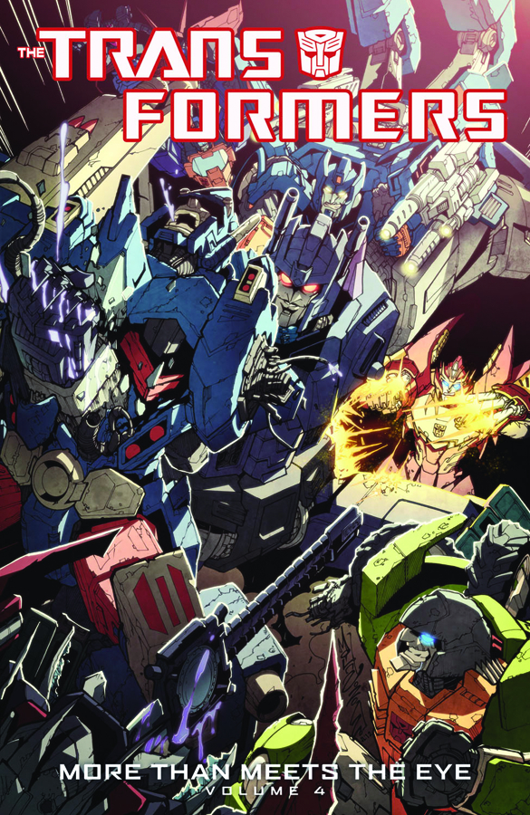 TRANSFORMERS MORE THAN MEETS THE EYE TP VOL 04