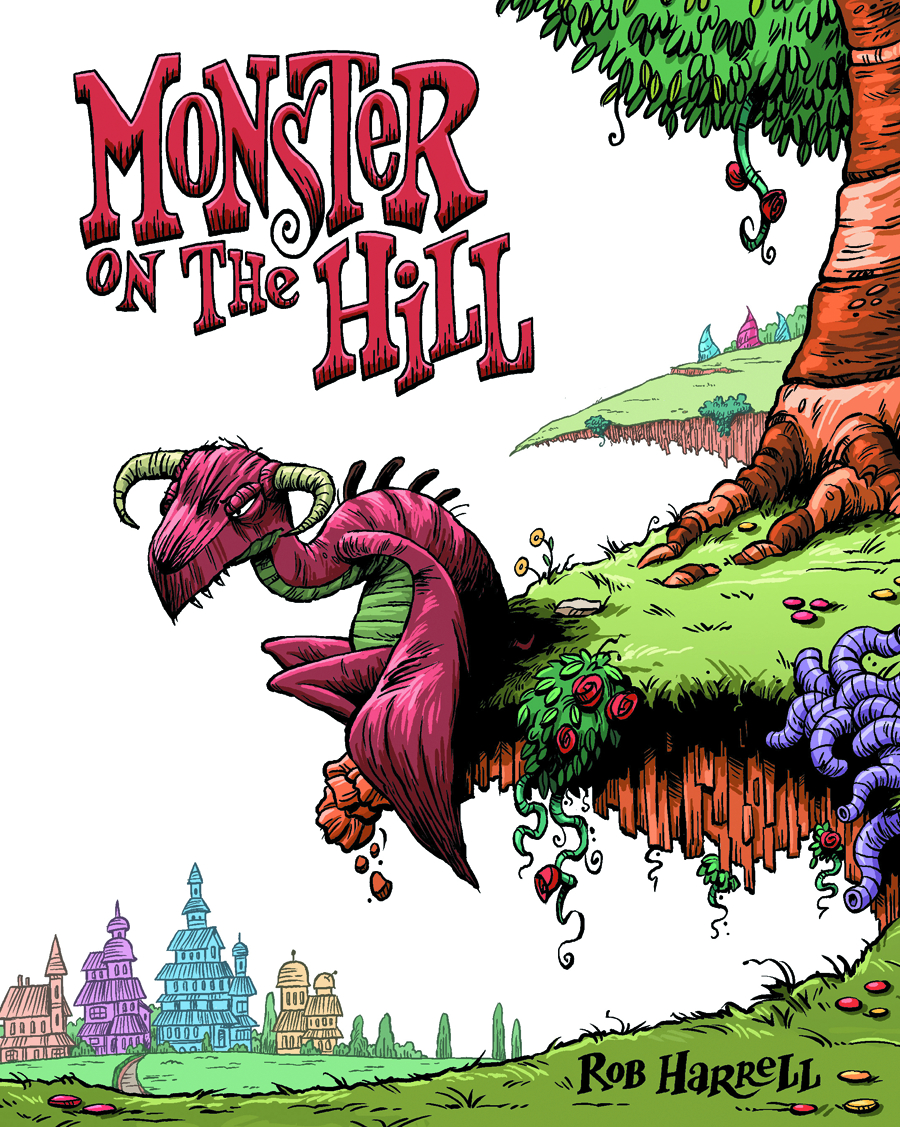 MONSTER ON THE HILL GN