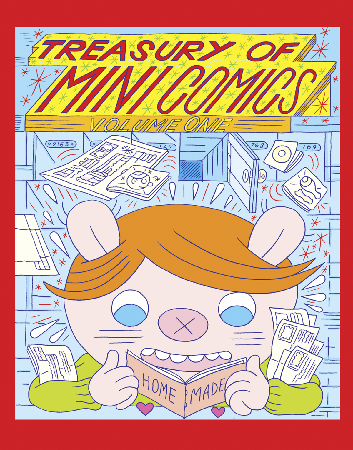 TREASURY OF MINI COMICS HC VOL 01