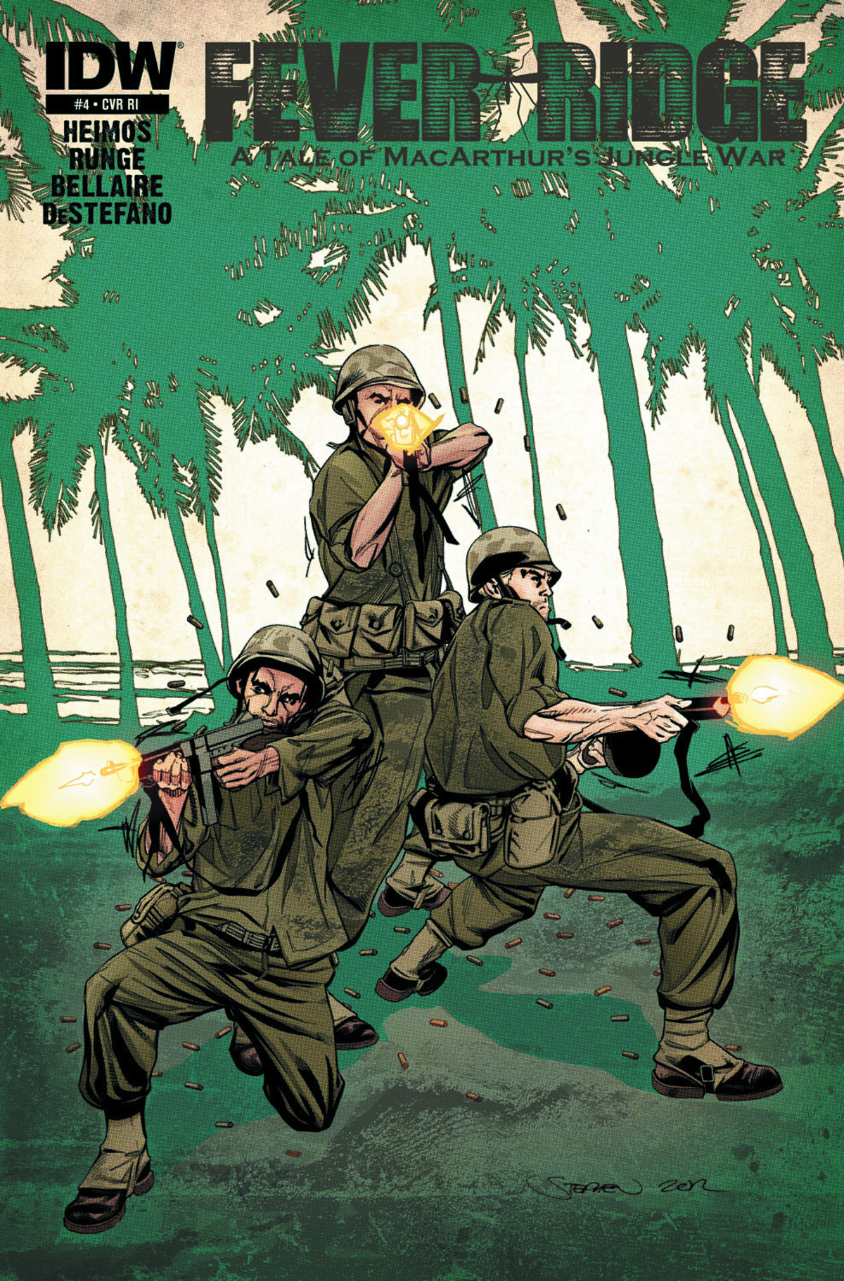 FEVER RIDGE MACARTHUR JUNGLE WAR #4