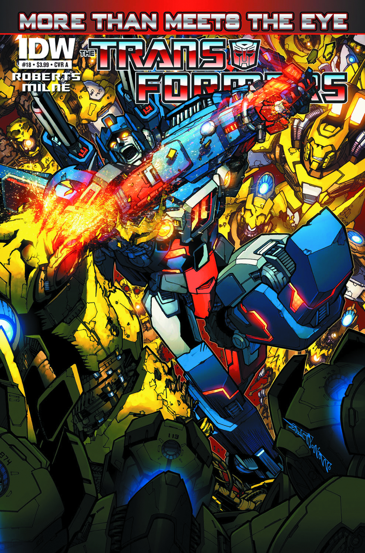 TRANSFORMERS MORE THAN MEETS EYE #18
