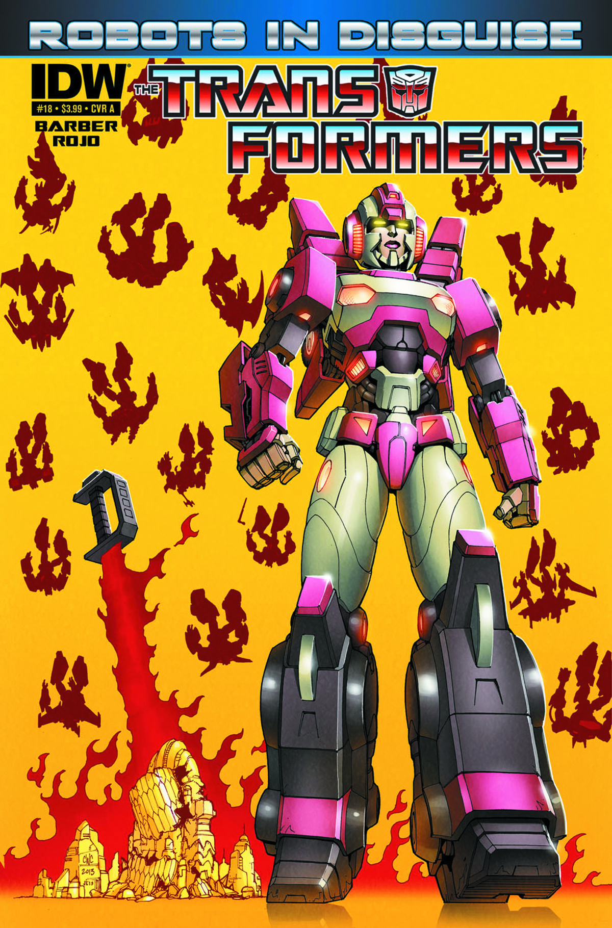 TRANSFORMERS ROBOTS IN DISGUISE #18