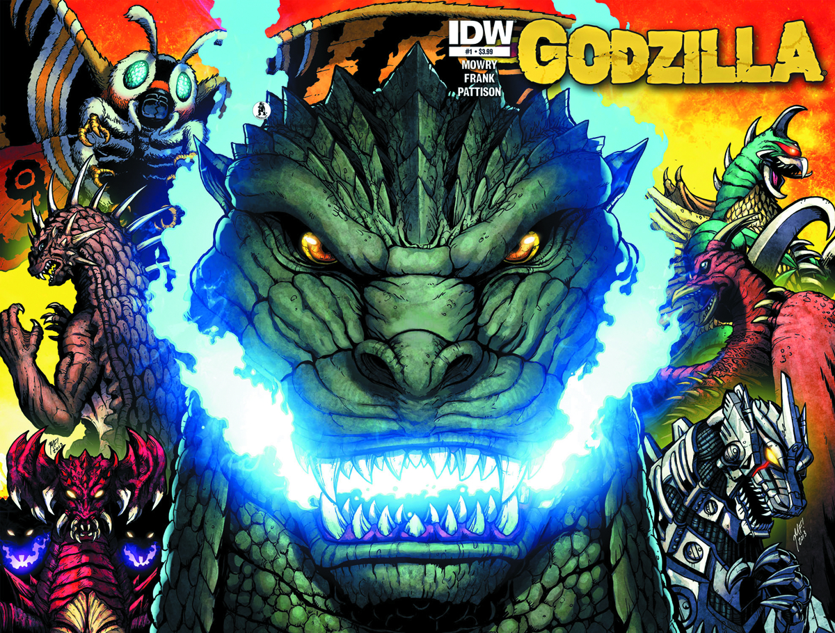 GODZILLA RULERS OF THE EARTH #1