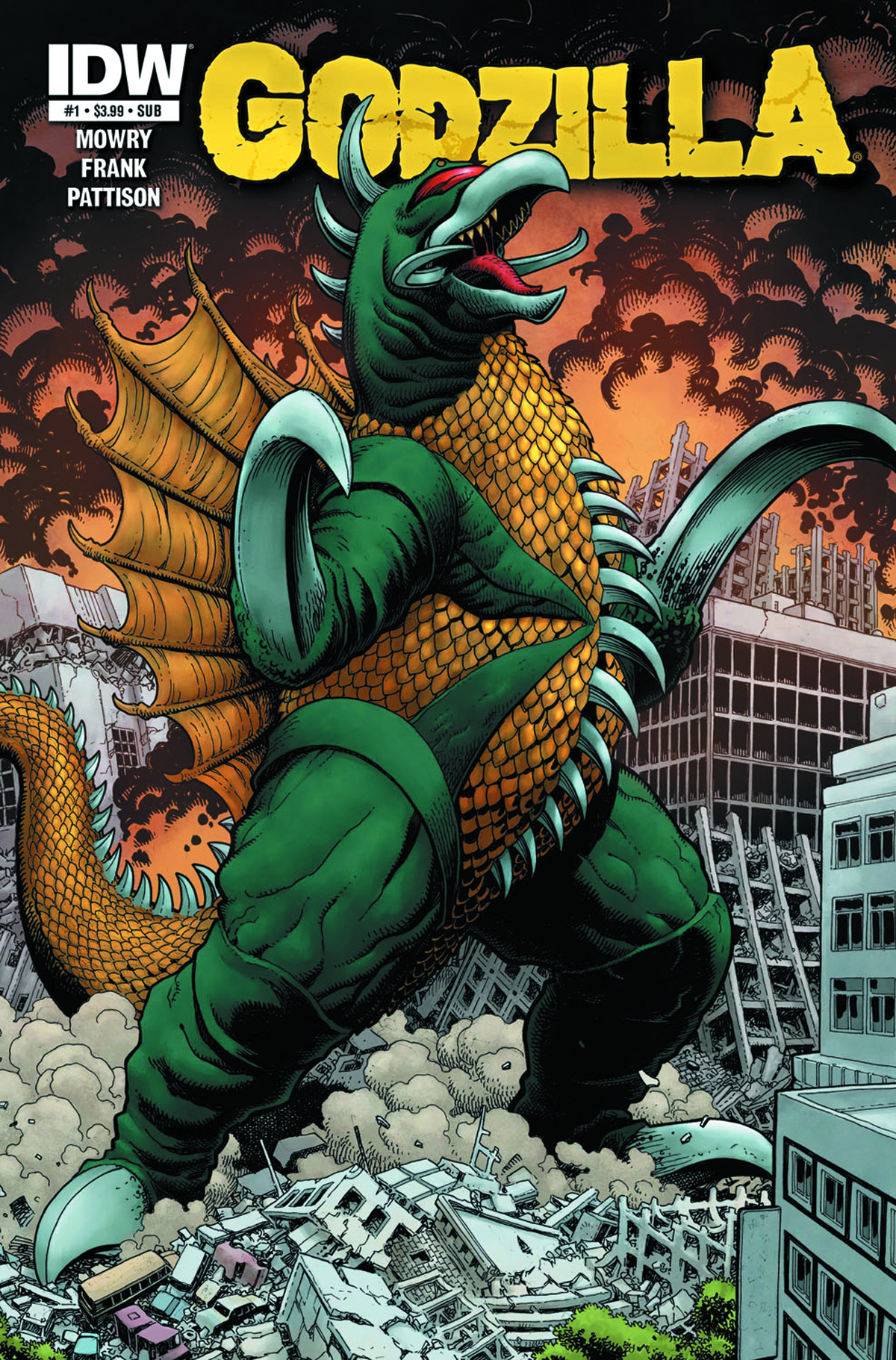 GODZILLA RULERS OF THE EARTH #1 SUBSCRIPTION VAR