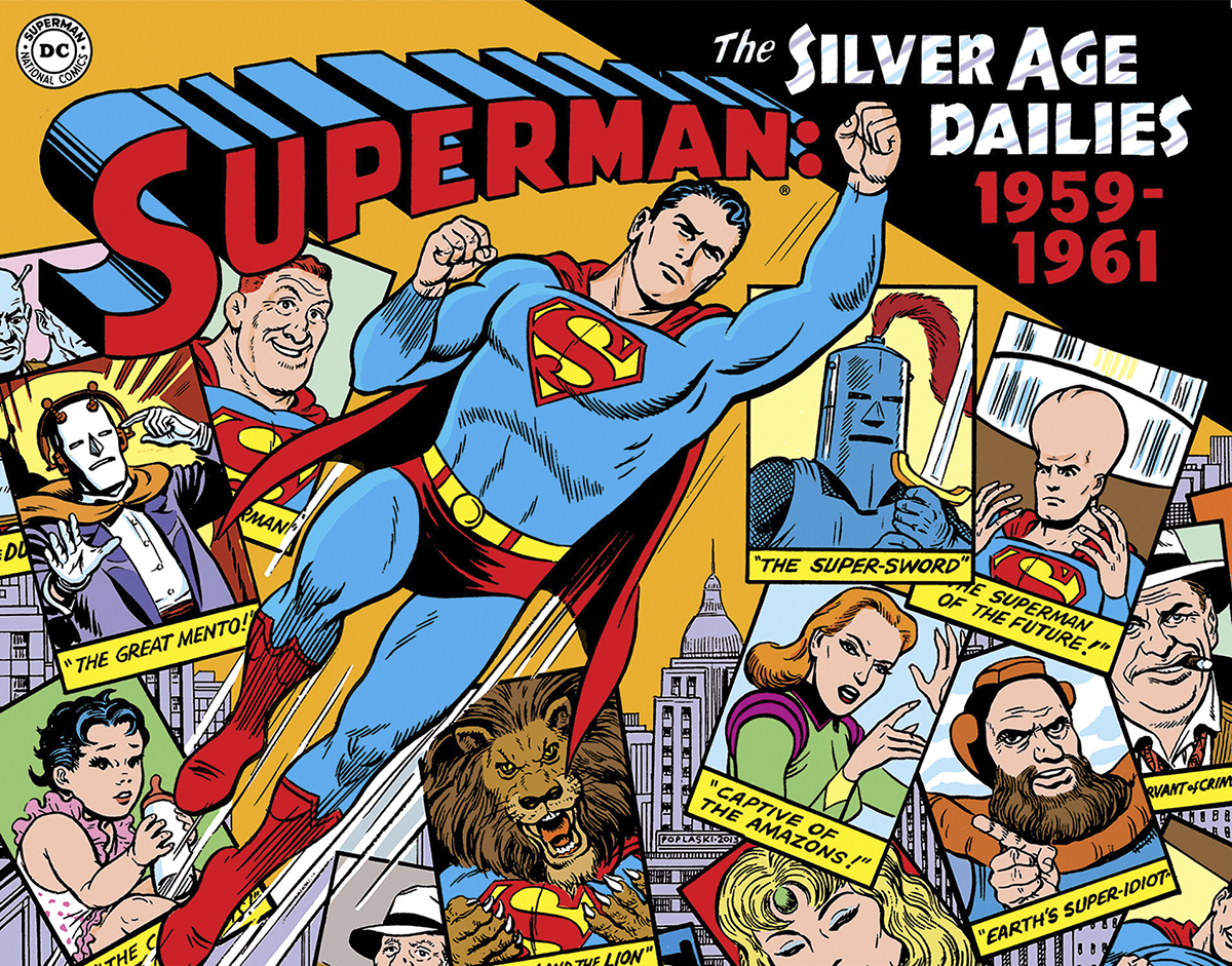 SUPERMAN SILVER AGE NEWSPAPER DAILIES HC VOL 01 1959-1961