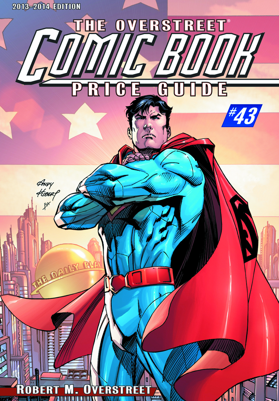 OVERSTREET COMIC BK PG HC VOL 43 SUPERMAN