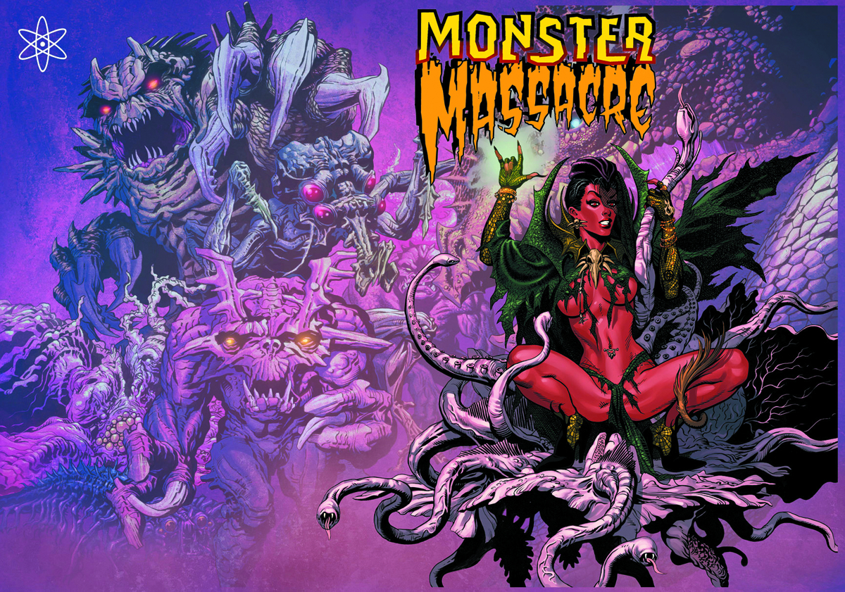 MONSTER MASSACRE HC VOL 01