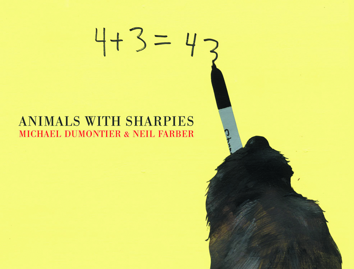 ANIMALS WITH SHARPIES HC