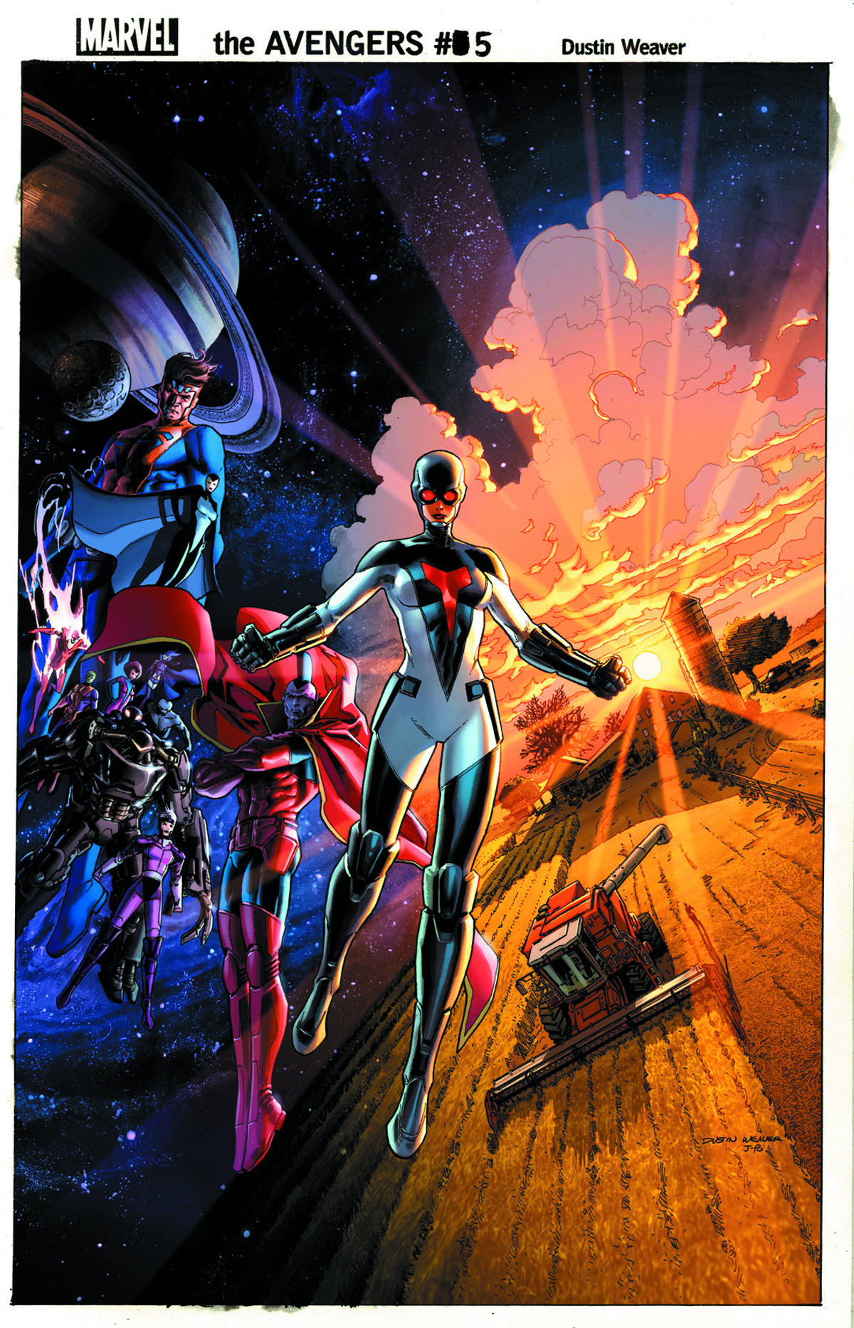 AVENGERS #5 2ND PTG KUBERT VAR NOW2