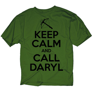 WALKING DEAD KC CALL DARYL PX OLIVE T/S XXL