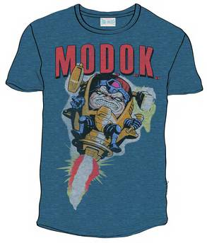 MODOK PX NAVY BLK HEATHER T/S LG