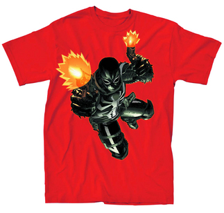 AGENT VENOM FLASH SHOT PX RED T/S SM