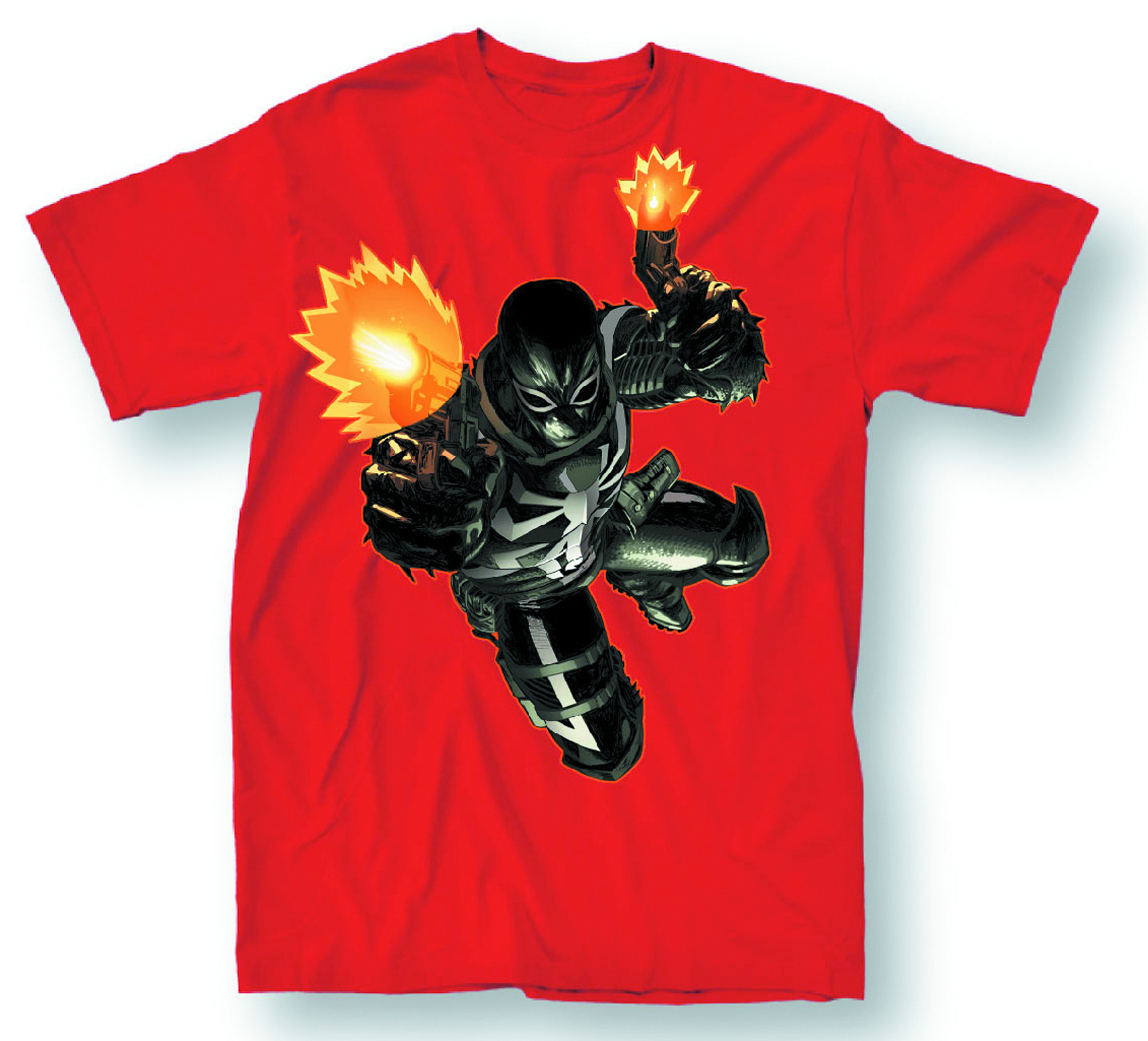 AGENT VENOM FLASH SHOT PX RED T/S XXL