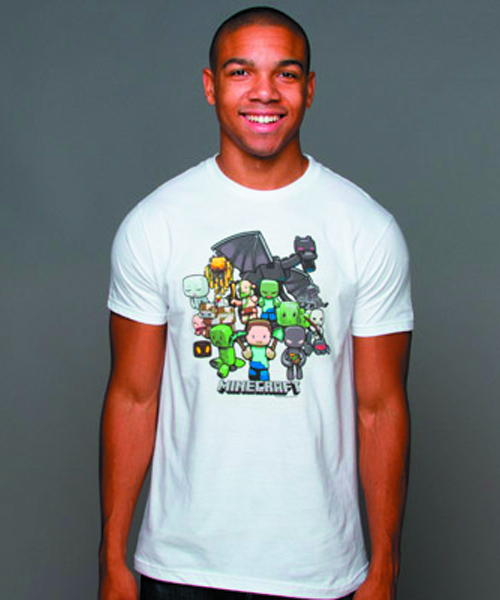 MINECRAFT MINECRAFT PARTY WHT T/S XL