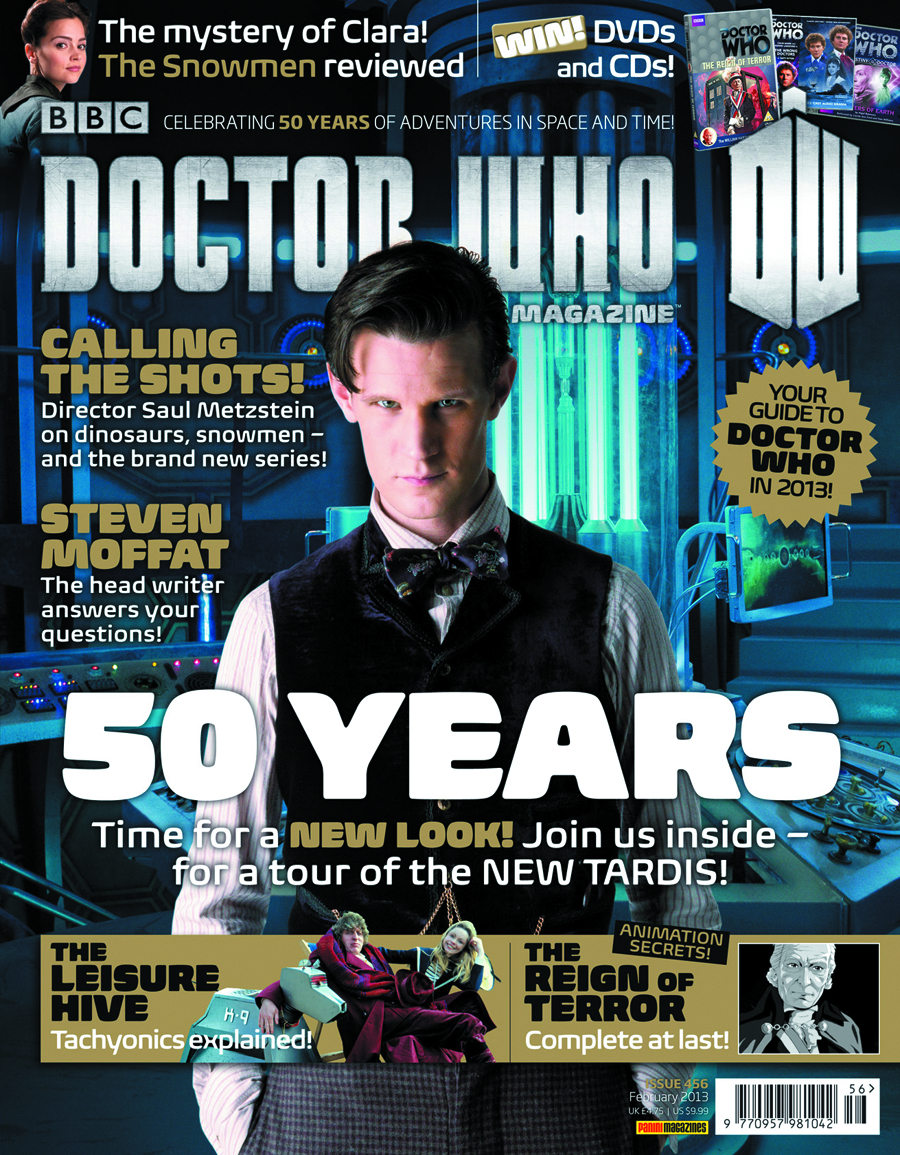 DOCTOR WHO MAGAZINE #461
