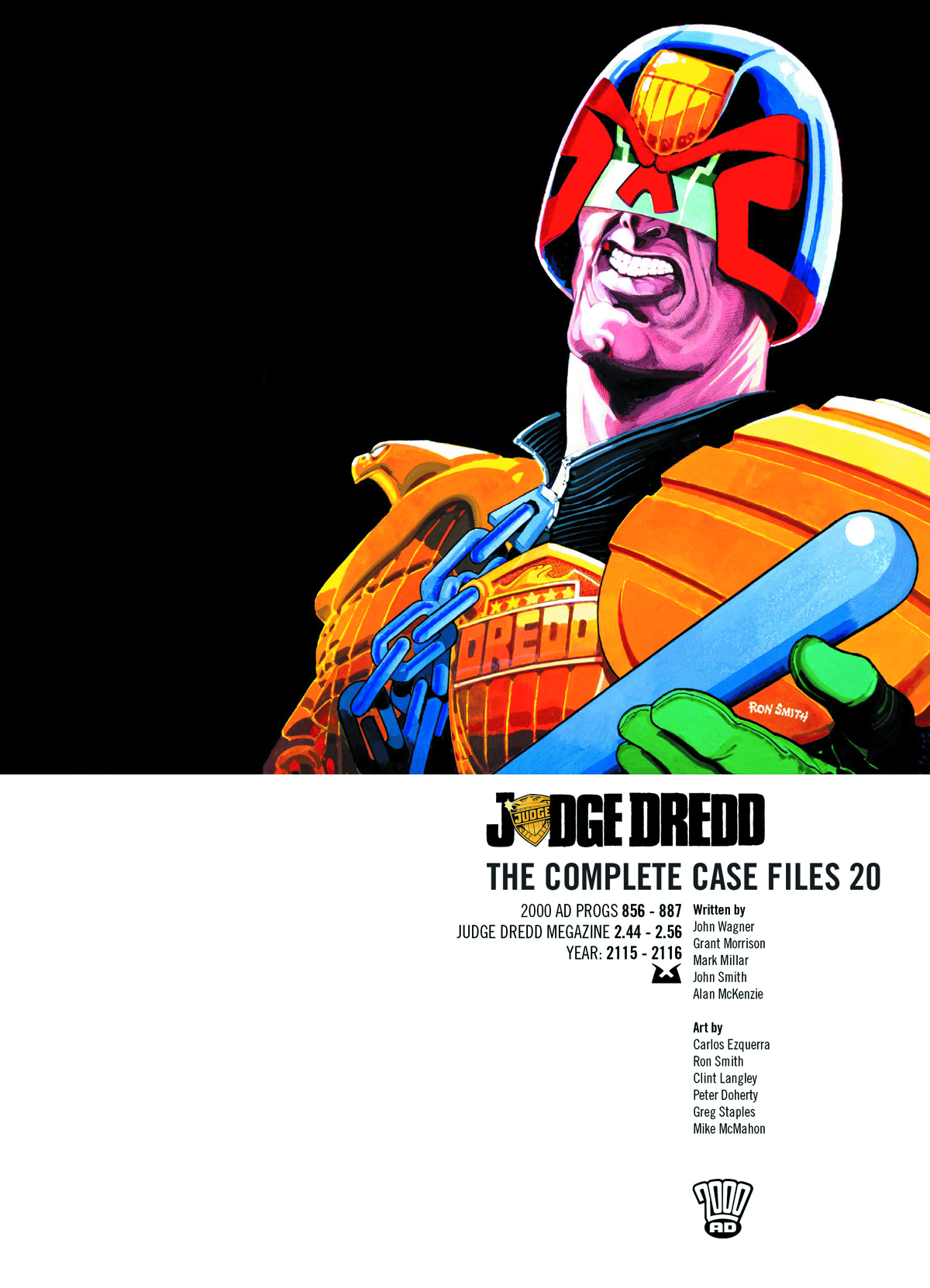 JUDGE DREDD COMP CASE FILES TP VOL 20