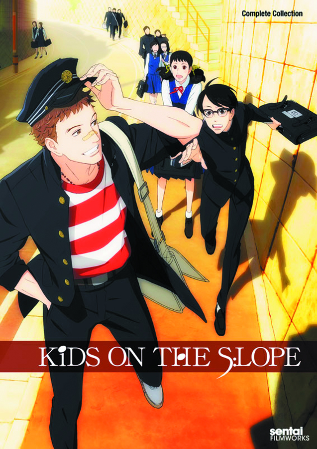 KIDS ON THE SLOPE COMP COLL DVD
