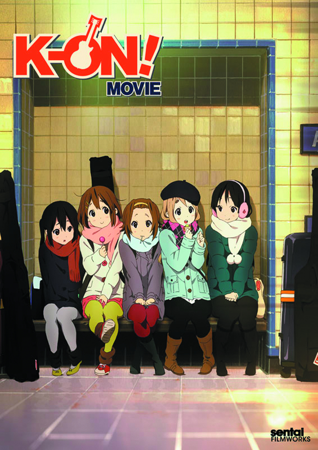 K-ON THE MOVIE DVD