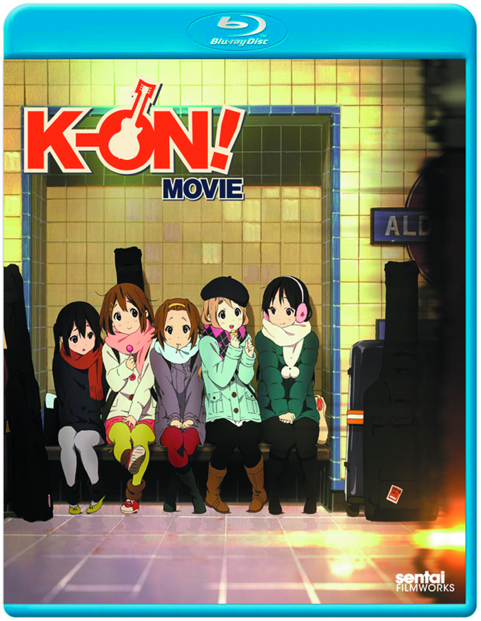K-ON THE MOVIE BD