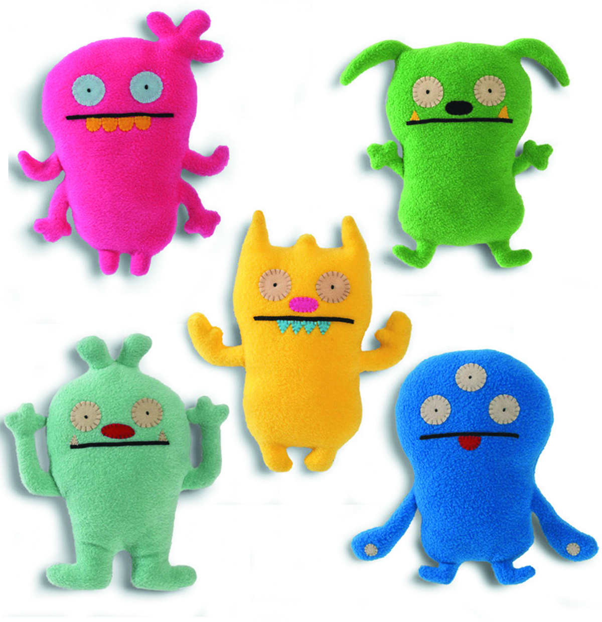 UGLYDOLL 2013 INTRO LITTLE 7-IN PLUSH ASST