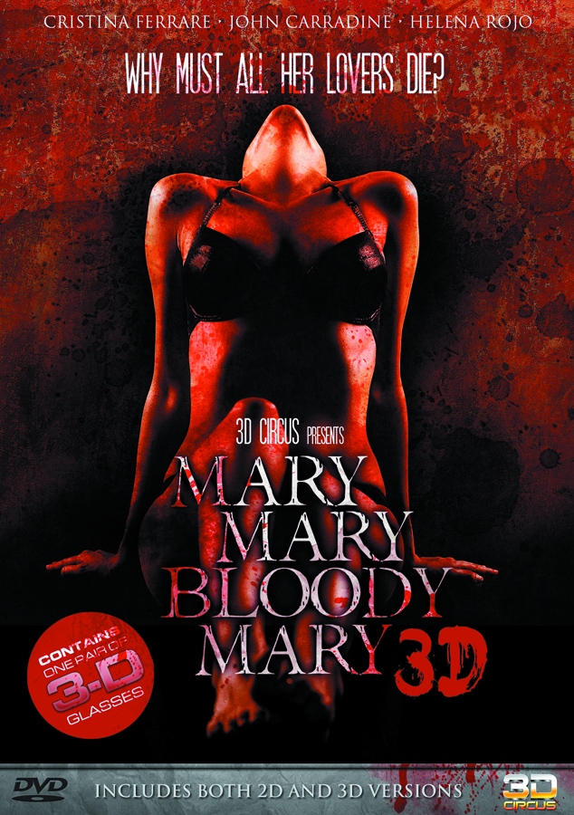 MARY MARY BLOODY MARY 3D DVD