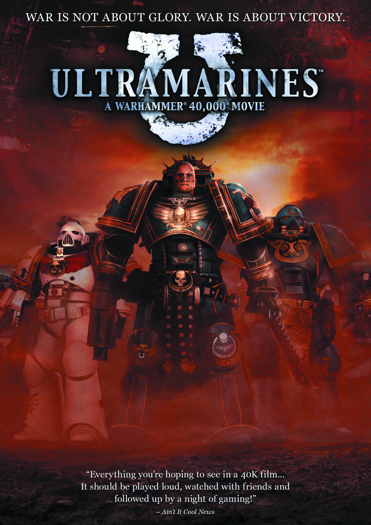 ULTRAMARINES WARHAMMER DVD