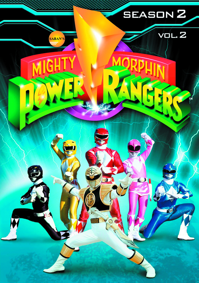 MIGHTY MORPHIN POWER RANGERS DVD SEA 02 VOL 2