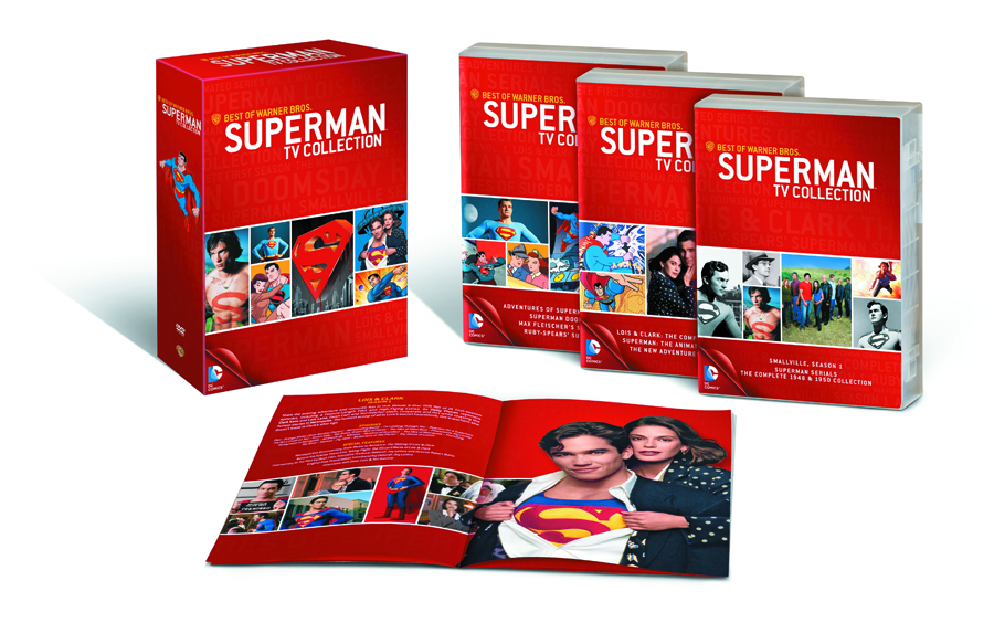 BEST OF WARNER BROS SUPERMAN TV COLL DVD