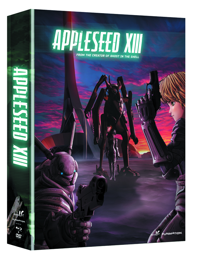 APPLESEED XIII COMP SER BD + DVD LTD ED