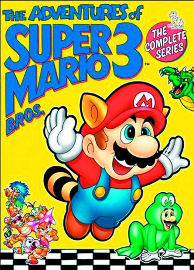 ADVENTURES OF SUPER MARIO BROS 3 COMP SER DVD