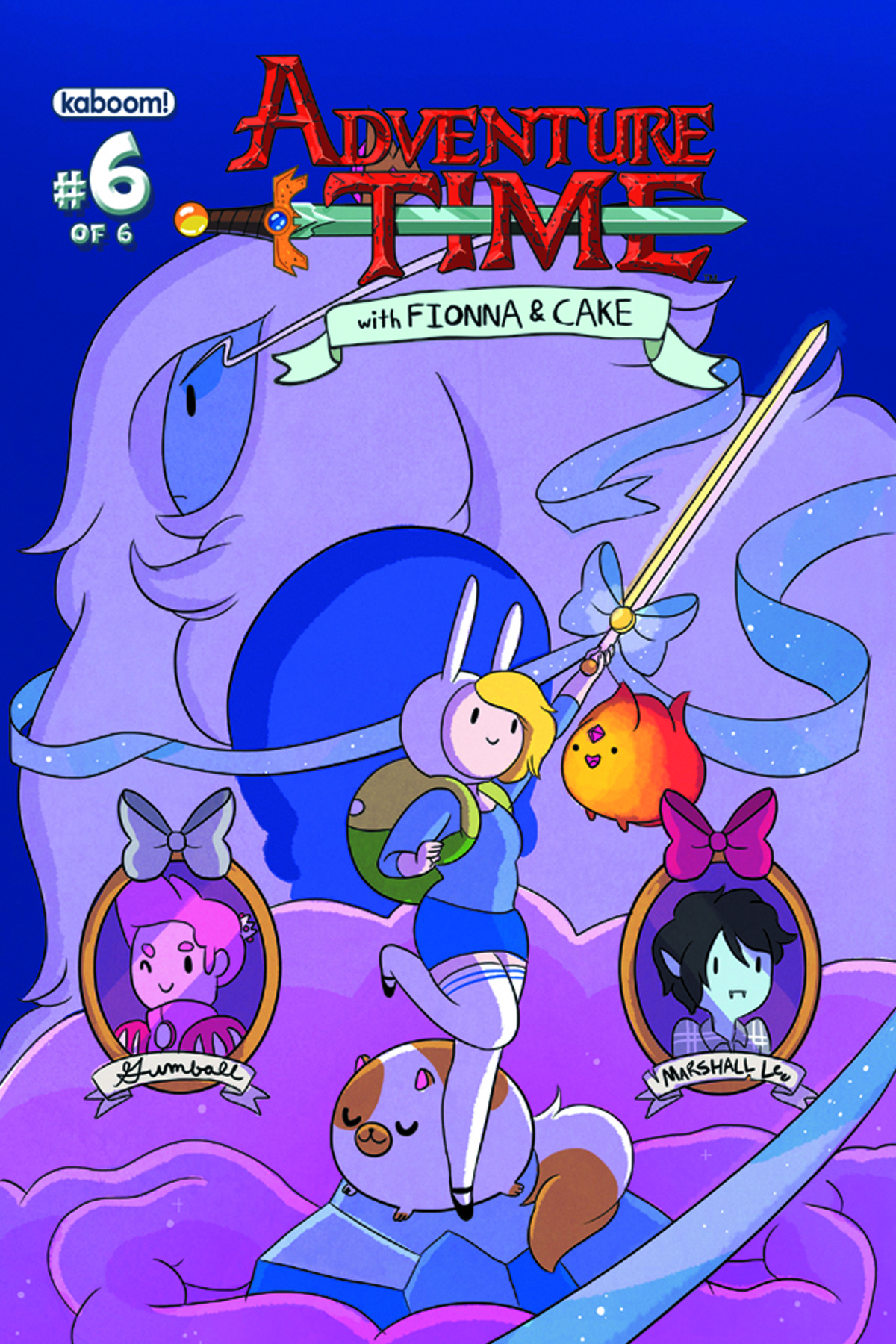 ADVENTURE TIME FIONNA & CAKE #6