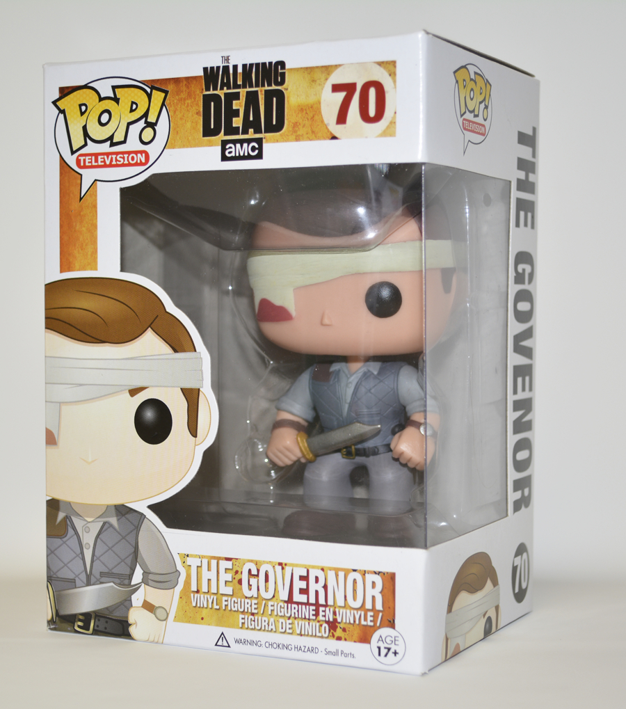 POP WALKING DEAD GOVERNOR PX VINYL FIG BANDAGE VER