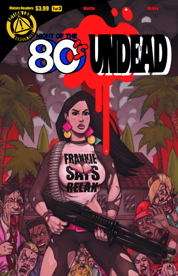 NIGHT OF THE 80S UNDEAD #1 (OF 3)
