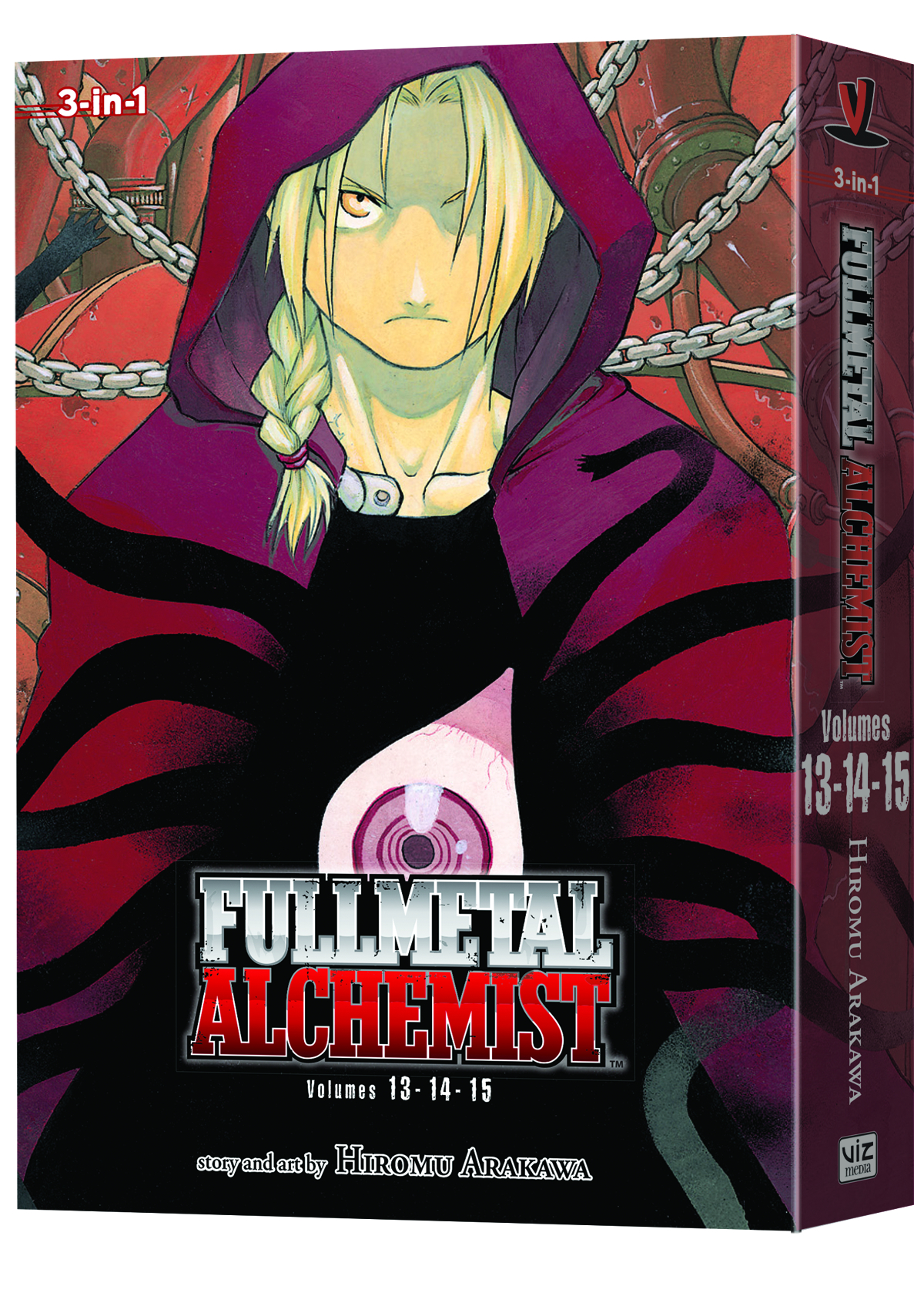 FULLMETAL ALCHEMIST 3IN1 TP VOL 05