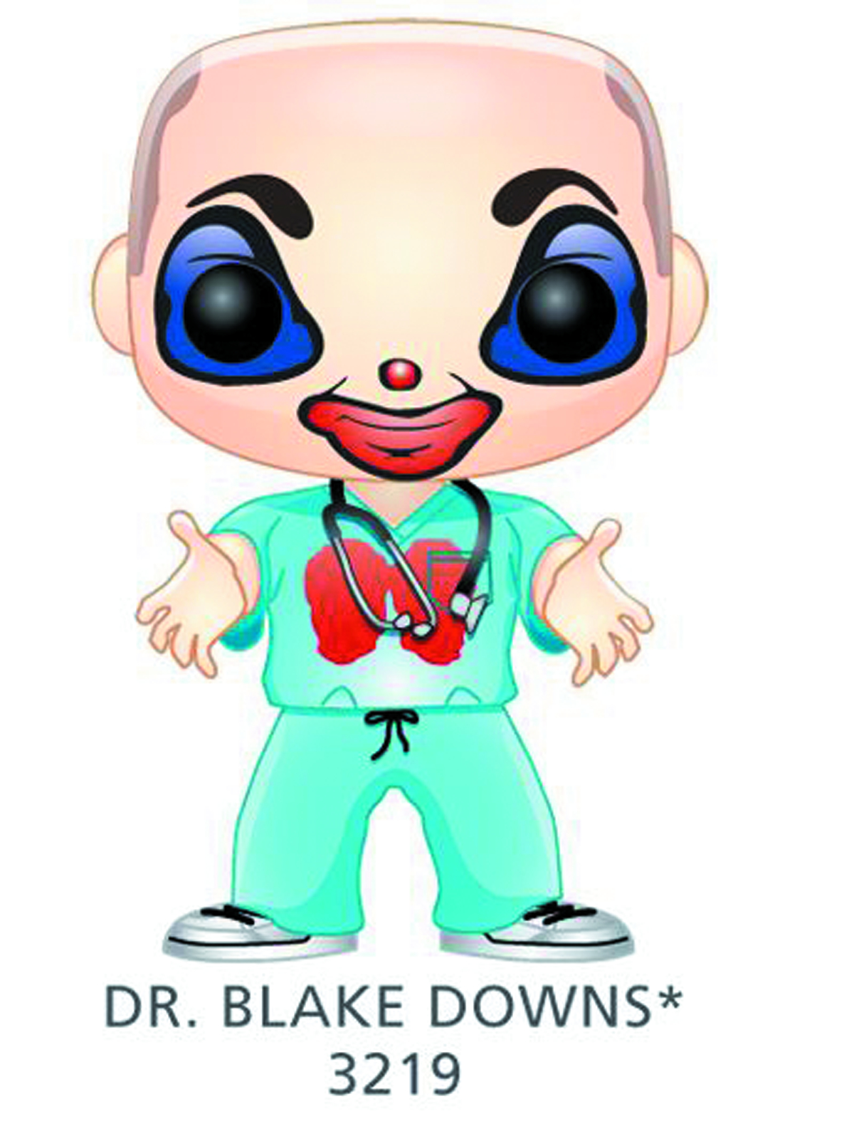 POP CHILDRENS HOSPITAL DR BLAKE DOWNS VINYL FIG